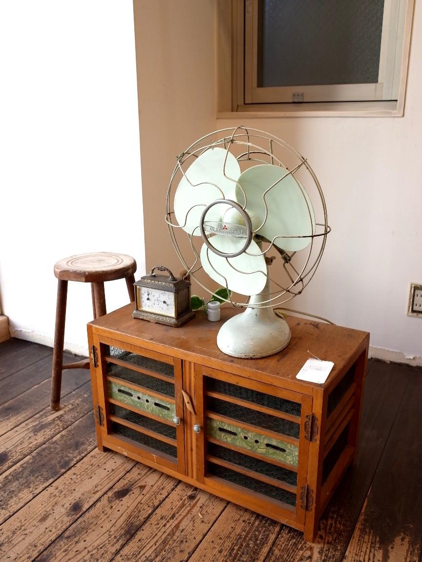 三菱 アンティーク扇風機  稼動品 昭和30年代頃